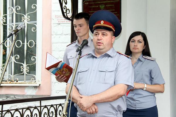 Алексей Мишанов, начальник ИК-4