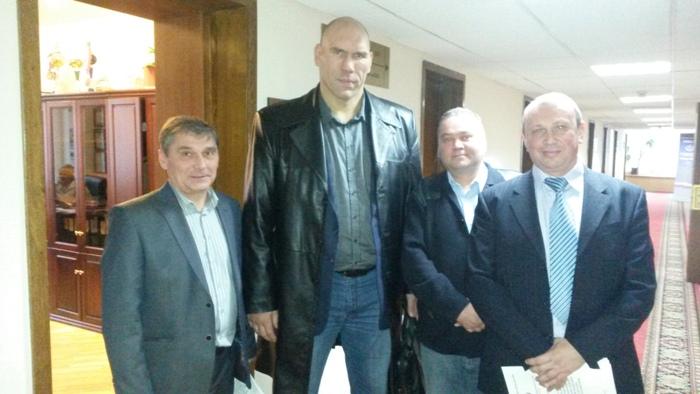 С Николаем Валуевым